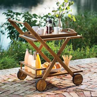 Beachcrest Home Pinecrest Bar Serving Cart