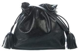 Loewe Flamenco Leather Crossbody Bag