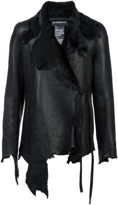 Ann Demeulemeester side fastening jacket
