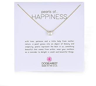 Dogeared Pearls of Happiness Freshwater Cultured Pearl on Filled Chain Necklace