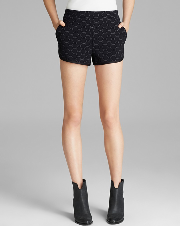 Marc by Marc Jacobs Shorts - Leyna Dotty Ponte
