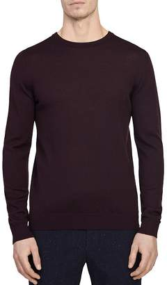 Reiss Wessex Merino Wool Crewneck Sweater