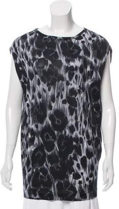 Stella McCartney Printed Short Sleeve Top