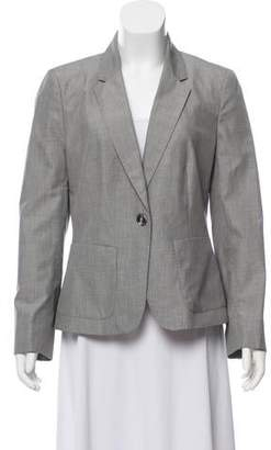 Joseph Notched-Lapel Long Sleeve Blazer