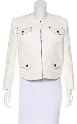 Pierre Balmain Tweed Structured Jacket w/ Tags