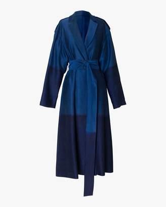 Rojas Alejandra Alonso Silk Trench Coat