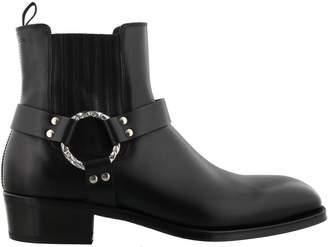 Alexander McQueen Cuban Heel Ankle Boot