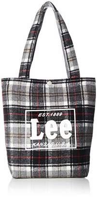 Lee (リー) - [リー] トートバッグ Lee タータンチェック柄 グレー