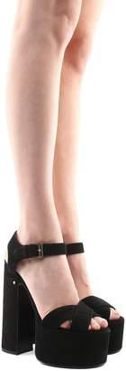 Laurence Dacade Rosella Suede Platform Sandals