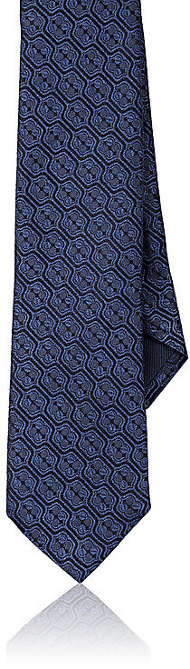 Barneys New York Barneys New York Men's Medallion Silk Necktie