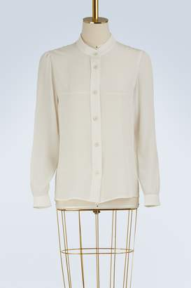 Vanessa Seward Bamboo silk shirt