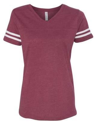 Lat 3537 LAT Ladies T Shirt Fine Jersey Football Tee