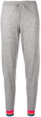 Parker Chinti & contrasting cuffs track pants