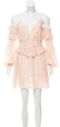 Francesco Scognamiglio Lace Mini Dress