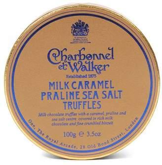 Charbonnel et Walker Milk Caramel Praline Sea Salt Truffles 100g