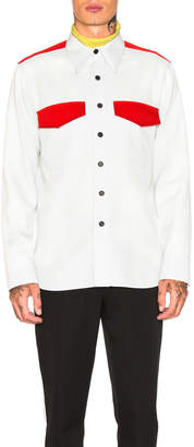 Calvin Klein Regular Fit Uniform Shirt