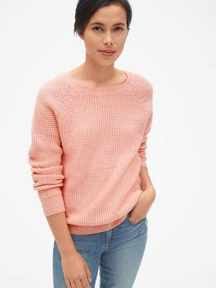 Gap Waffle Stitch Pullover Sweater