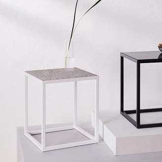 west elm Side Table - Pink Composition Surface