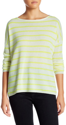 alice + olivia Efren Slouchy Boatneck Cashmere Sweater $330 thestylecure.com