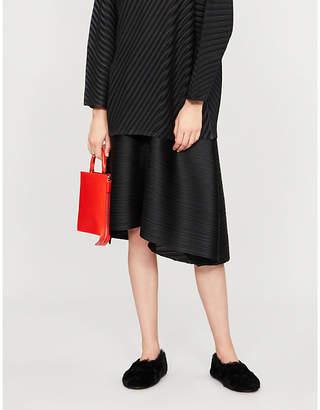 Pleats Please Issey Miyake Bounce pleated mini skirt