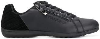 Versace side zip sneakers