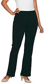 Susan Graver Tall Full Length Flare Pull-OnPants