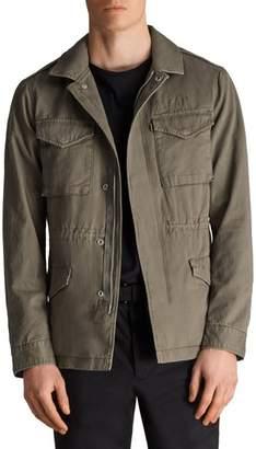 AllSaints Cote Regular Fit Cotton Jacket