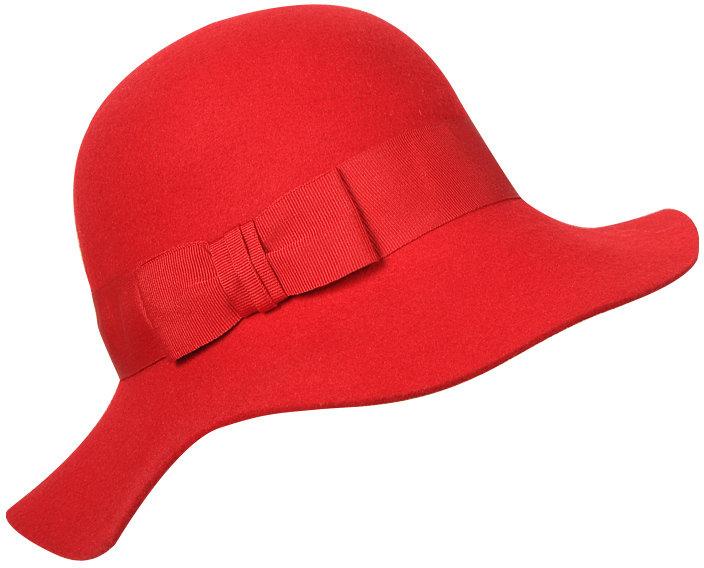 FOREVER 21 Wide Brim Wool Hat
