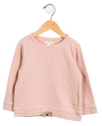 Marie Chantal Girls' Embellished Crew Neck Sweatshirt