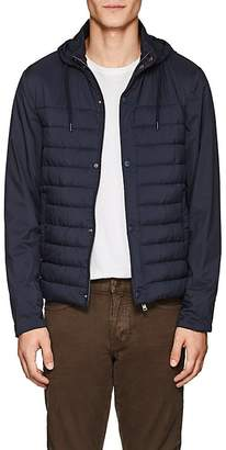 Herno MEN'S HOODED PUFFER JACKET