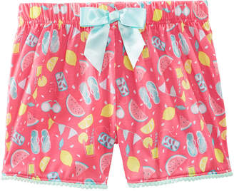 Max & Olivia Printed Pajama Shorts, Little Girls & Big Girls, Created for Macy's