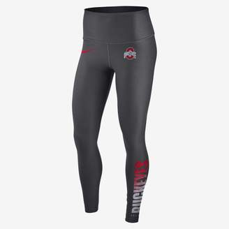 Nike Women's Training Tights College Power Sculpt (Ohio State)