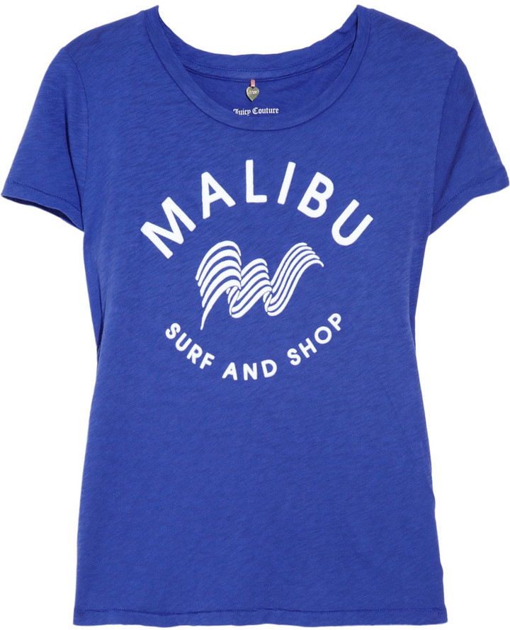 Juicy Couture Malibu cotton-jersey T-shirt