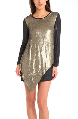 3.1 Phillip Lim Sequin-Embellished Silk Dress