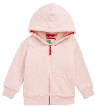 Boden Mini Fleece Lined Zip Hoodie
