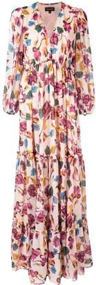 Saloni Japonica print dress