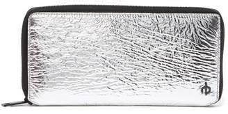 Rag & Bone Silver Zip-Around Wallet