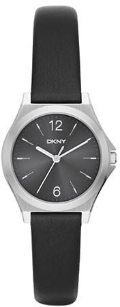DKNYDkny Stainless Steel and Leather Watch