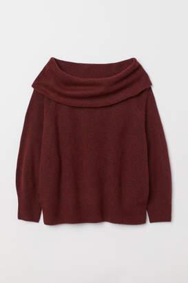 H&M H&M+ Knit Sweater - Pink