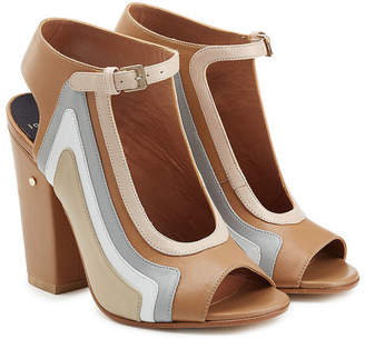 Laurence Dacade Keric Leather Block Heel Sandals