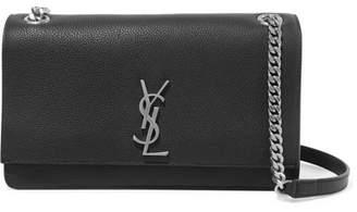 171644c3251e0 Saint Laurent Sunset Medium Textured-leather Shoulder Bag - Black