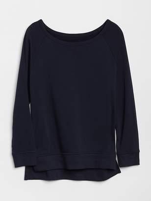 Gap Raglan Sleeve Pullover Sweatshirt Tunic
