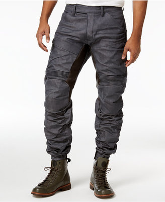 G-Star RAW Men's Motion 3D Tapered jeans $300 thestylecure.com