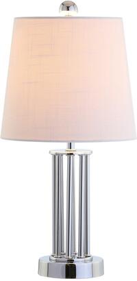 Jonathan Y Lillian 18In Metal Mini Led Table Lamp