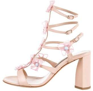 Zac Posen Claire Floral Sandals w/ Tags