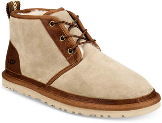 UGG Men's Neumel Leather Trim Chukka Boot Men's Shoes