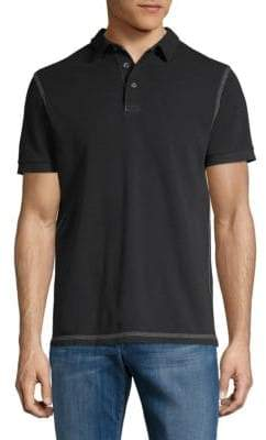French Connection Triple Stitch Cotton Polo