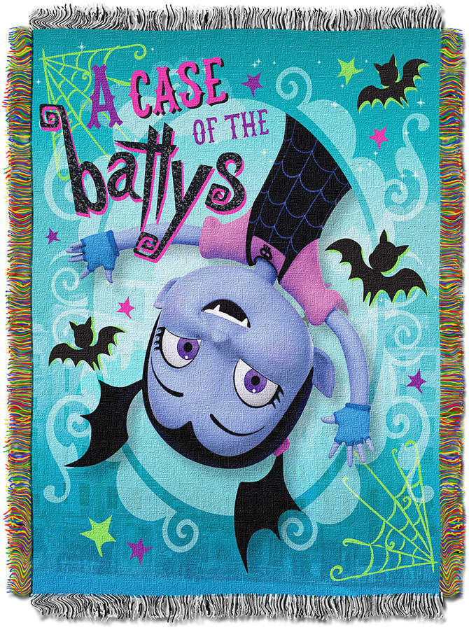 Vampirina 'Going Batty' Tapestry Throw