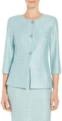 St. John Glitter Sequin Knit Jacket
