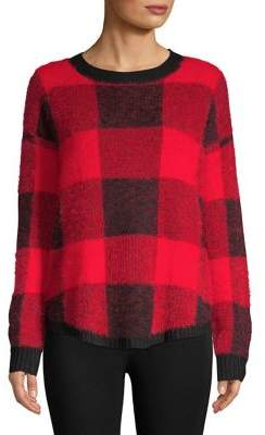 Buffalo David Bitton Design Lab Plaid Fuzzy Pullover